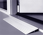 Threshold Ramps - Aluminum Threshold Ramps for scooters, wheelchairs, power wheel chairs and walkers from EZ Access Ramps.