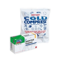 "Instant Cold Pack Compress - Instant first aid ice cold pack compress 4"" x 5"", B-503"