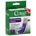Curad Leg Cast and Bandage Cover Protector - Allows the user to shower while in a leg cast to protect cast or bandage from getting wet. Need to keep your cast dry while showering? Waterproof cast and bandage protector and cover. CUR200ALL