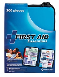 First Aid Kit Softsided - Are ready for all potential emergencies at home, in the car, outdoors or on the water. Our new generation of soft first aid kits are developed to save time and frustration in the midst of emergencies. First Aid Only FAO-432