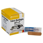 First Aid Supplies - Fabric Bandages bandaids for your first aid kit. Fabric bandages in bulk. 100 per box. H119 or H-119