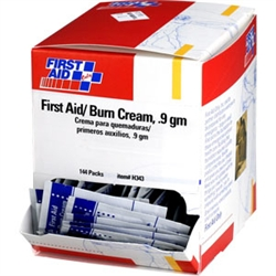 First Aid Only Burn Cream for your first aid kit, Individually packaged first aid burn cream. Item number h343 or h-343