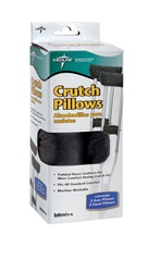Medline Crutch Pillows give you increased comfort from irritating crutch arm pads. Fits all standard crutches. MDSPPC107. Stop the irritating arm pads on your crutches with crutch pads from Medline.