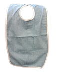 Medline Adult Terry Cloth Bib and Clothing protector, protects clothing while eating. MDT014120