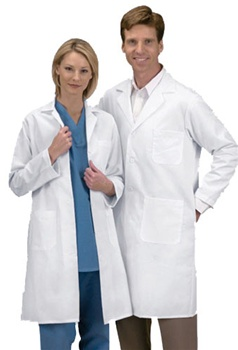 Lab Coats - Medline Heavyweight Twill Lab Coat