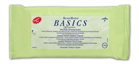 Medline ReadyBath Basics Wipes, Fragrance Free, Medline Bathing wipes are wipes that help you bathe without water. MSC095109-EA