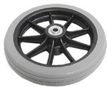 "Nova 6"" Rollator/Walker Wheel, P42052 - Replacement Wheels for your Nova Rollator Walkers.Replace the worn out wheels on your Nova Cruiser style rollator walkers."