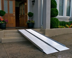 EZACCESS SUITCASE Folding Ramps, Signature Series, Wheelchair Ramps. Scooter Ramps, ADA accessible ramp