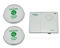 Smart Caregiver Nurse call button Patient Safety Call button. Two call button paging system with wireless pager. TL-5102TP