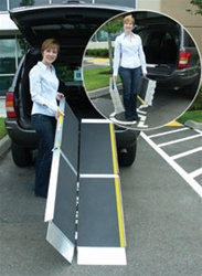EZ-Access TRIFOLD Folding Wheelchair Ramp