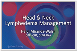 Head and Neck Lymphedema Management
