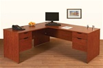 NEW Laminate L-Shaped Desk B/F,  B/F
