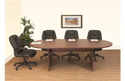 NEW Laminate Oval Conference Table