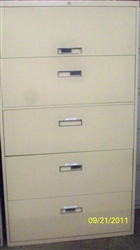 Steelcase 800 Series 5 Drawer Lateral File