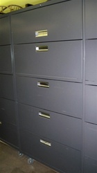 HON 600 Series 5 Drawer Lateral File Cabinet
