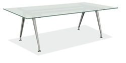 New Frosted Glass Conference Table
