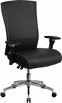 NEW Hercules High Back Executive Chair Black 300 lb. Capacity