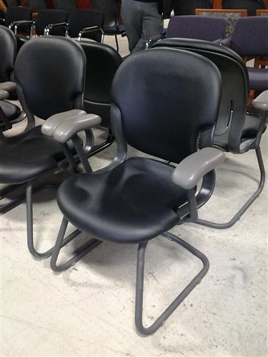 Herman Miller Equa Sled Base Chair