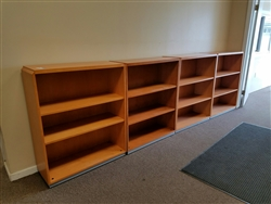 Kimball Wood Bookcase
