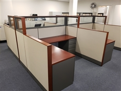 "Knoll Dividend 66"" x 72"" Workstations"