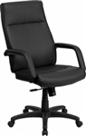 NEW High Back Leather Executive Chair with Memory Foam