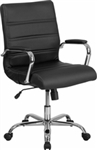 New Mid Back Leather Conference Chair