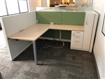 "Steelcase Answer 66"" x 84"" Workstation"