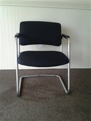 Steelcase 421 Sled Base Side Chair