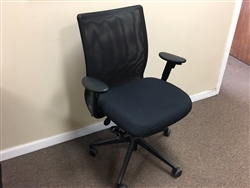 Steelcase Jersey Black Mesh Chair