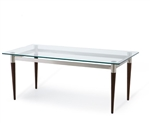 New Lesro Siena Glass Coffee' Table