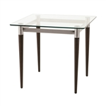 NEW Lesro Siena Glass End Table