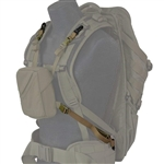 Eberlestock - Chest Pouch Suspension Kit - Dry Earth - HD Buckle
