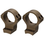 Talley Ring Set - Browning X Bolt Hells Canyon - 1 inch - High