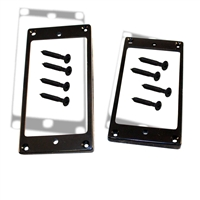 Trim Ring Humbucker Black pair