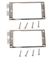 Trim Ring Humbucker Chrome pair
