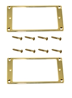 Trim Ring Humbucker Gold pair