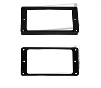 Trim Ring Arch Humbucker Black set