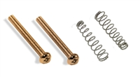 Pickup Mounting Screw gold 3-48 thread