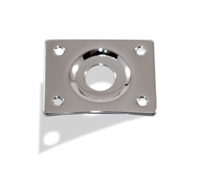 Jack Plate Rectangular Chrome