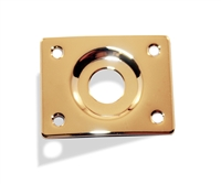 Jack Plate Rectangular Gold