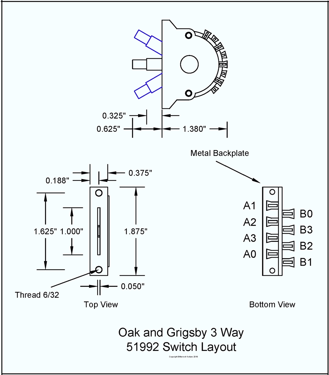 Switch 3 Way Oak Grigsby no on