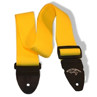 "2"" guitar strap yellow"