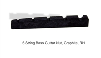 guitar nut graphite bass 45mm
