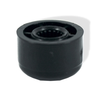 Push on knob bushing for guitar