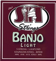 Banjo Strings SIT 5 string light
