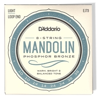 daddario mandolin strings light