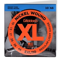 D'Addario. Electric Nickel Wound Light Strings
