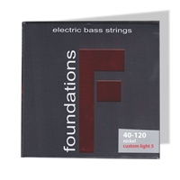 S.I.T. Bass Guitar Strings Custom Light 5 string nickel FN540120L