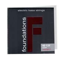 S.I.T. Bass Guitar Strings Medium Light 5 string nickel FN545125L