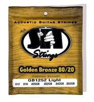 S.I.T. Acoustic Golden Bronze Light Strings